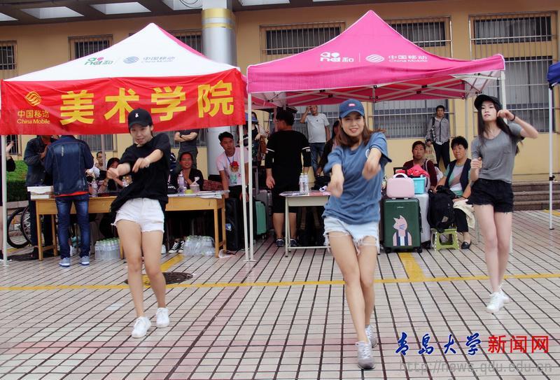 美术学院:多措并举 真情迎新生_青岛大学